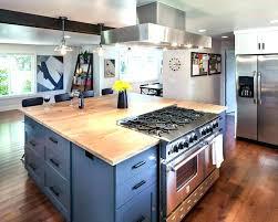 stove on kitchen island island cooktops image for kitchen island ideas range