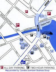 map of camden maine where to park in camden maine schooner olad