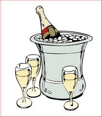 champagne celebration cartoon flying lessons