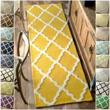 Yellow Runner Rug Kitchen Yellow Kitchen Runner Pictures Decorations Inspiration