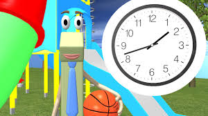 telling time to the half hour 1st grade youtube