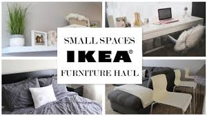 small room sofa bed ideas ikea ideas for small spaces furniture haul youtube