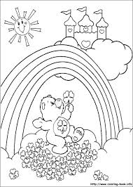 care bears coloring picture