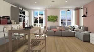 amenagement cuisine 20m2 génial amenagement salon 20m2 décoration de la maison