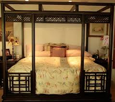 indonesian bed frames solid teak canopy style designs