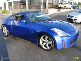 Nissan 350z Blue - 2004 nissan 350z touring coupe in daytona blue metallic 153075