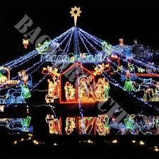christmas peace lights computer printed backdrop backdrop city