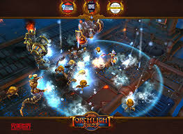 torch light for android phone torchlight mobile gets a new gameplay video showing off the kitsune