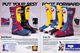 msr motocross boots a few cool mx ads from early 80 u0027s moto related motocross