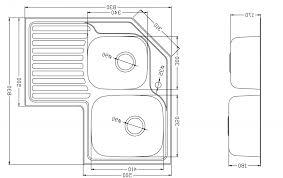 Kitchen Sink Cabinet Size Standard Cabinet Depth Yeo Lab Com