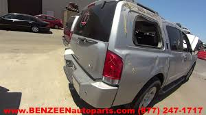 parting out 2007 nissan armada stock 7259yl tls auto recycling