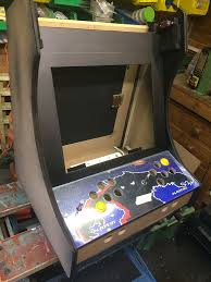 Bar Top Arcade Cabinet Space Invaders Themed Bartop Arcade Uk Completed Retropie Forum