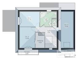 Plan De Maison En Longueur Maison Contemporaine 12 Détail Du Plan De Maison Contemporaine