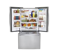 Counter Depth Stainless Steel Refrigerator French Door - lg stainless steel french door refrigerator lfxc24726s