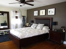 dark bedroom furniture and light walls nice color schemes