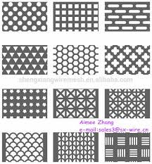 decorative perforated metal sheet perforated aluminum sheet metal