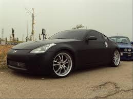 Nissan 350z Black - nissan 350z matte black image 61