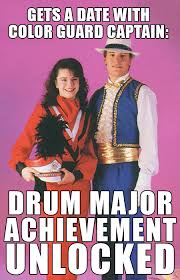 Drum Major Meme - meme contest wrap up band shoppe