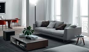 Grey Contemporary Sofa by Contemporary Sofa Fabric 3 Seater Gray Brian By No Code