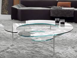 all glass coffee table glass coffee table for modern living room decoration table edge