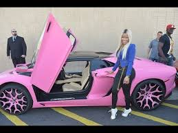pink lamborghini car nicki minaj paints 400 000 lamborghini bright pink