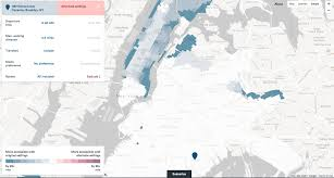 Citibike Map Sidewalk Labs New Map Demo How The L Train Shutdown Will Impact