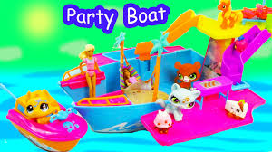polly pocket tropical party yacht boat water pool play toy review