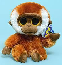 ty beanie boos bongo key clip monkey ty beanie boos ty