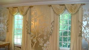 custom window treatment new york swags u0026 tails curtains amazon