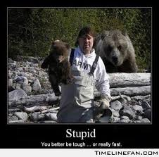 Pissed Off Meme - funny bear pics with women piss off a bear great idea funny