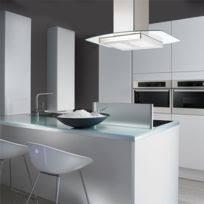 hottes de cuisine design hbh hotte aspirante de cuisine design conique verre blanc 60 cm