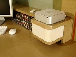 Custom Home Office FurnitureMac Mini Inspired Custom Builtin - Custom home office furniture