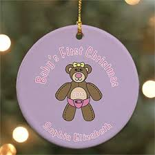 personalized baby s ornaments baby ornaments