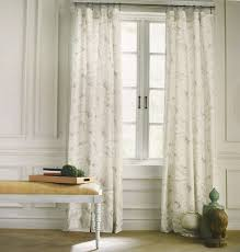 Pier One Paisley Curtains by Tommy Hilfiger Mission Paisley Grey Beige Gray 2pc Window Curtain