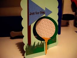how to cut a flip for men masculine birthday flip card on golf theme made using brother scan