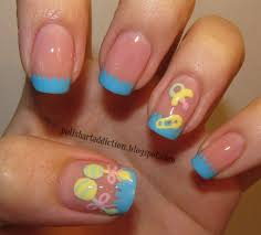 Baby Nail Art Design 11 Best Baby Shower Nail Art Ideas Images On Pinterest Baby Nail