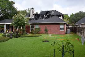 Garage Home by Garage Fire Causes Major Damage To Cinco Ranch Home