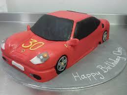 ferrari sport car red ferrari sport car 30th birthday cake crumbs cake shop sheffield