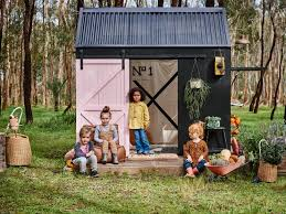 backyard cubby house project assists youth in need realestate com au