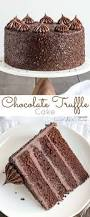 best 25 chocolate truffle cake ideas on pinterest dark