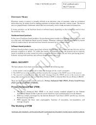 Cnc Operator Job Description For Resume by Network Security Unit 4 5 6