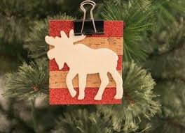 Christmas Moose Home Decor Upcycled Cd Ornaments Easy Diy Project For Last Minute Gifts