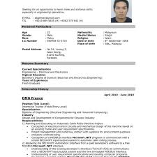 simple format of resume resume resume exle resume format resume resume pattern in
