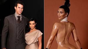 nude photos of kim kardashian kris humphries reacts to ex kim kardashian u0027s nude photos video