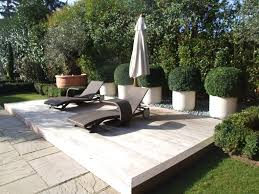 Modern Gardens Ideas Modern Garden Design With Pool Savwi