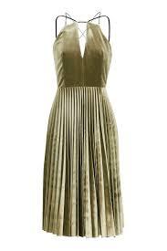 topshop dress velvet pleated midi dress topshop