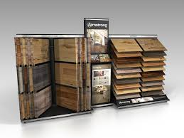 armstrong retail display wing waterfall wood combo floorcoveringnews