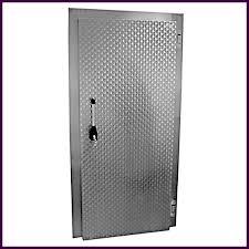 porte de chambre de chambre froide en aluminium galvanisé