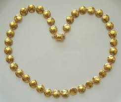 24 karat gold necklace inspirations of cardiff