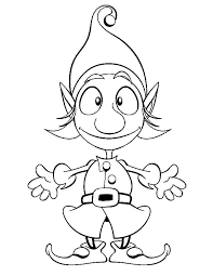free printable coloring pages of elves elves coloring pages elf on the shelf coloring page elf coloring